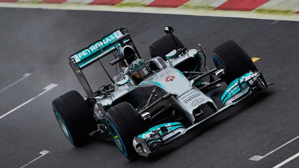 Mercedes-Benz F1 360º POV