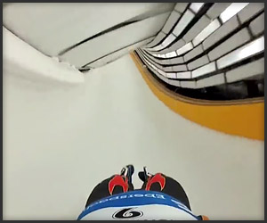 Olympic Luge POV