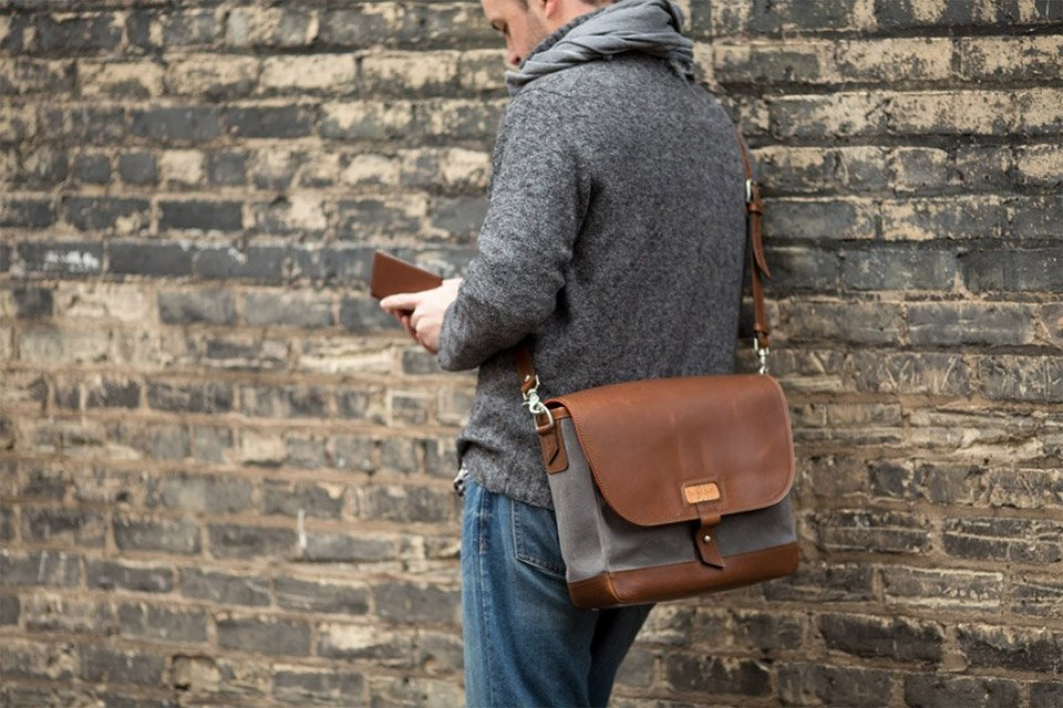 Win a Pad and Quill Messenger Bag
