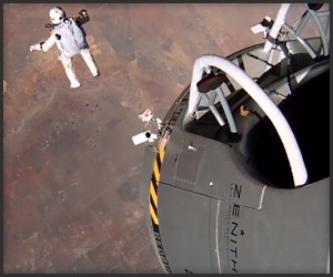 Red Bull Stratos GoPro Footage