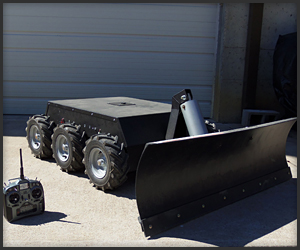 RC Snow Plow Robot