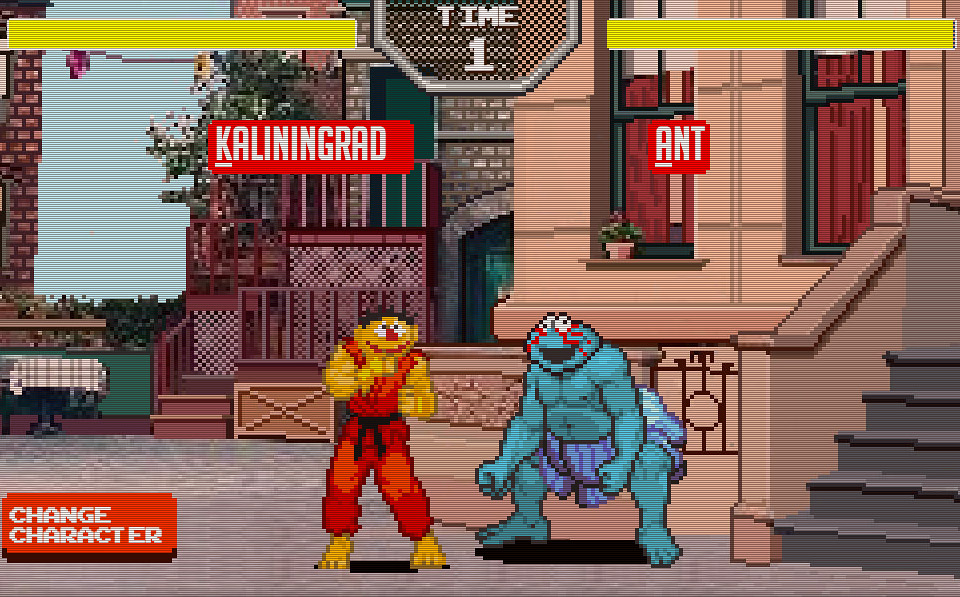 Sesame Street Fighter: The Game
