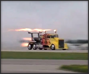 Shockwave Jet-Powered Truck