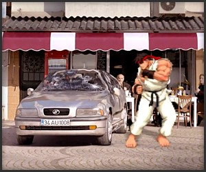 Street Fighter Insurance Ad