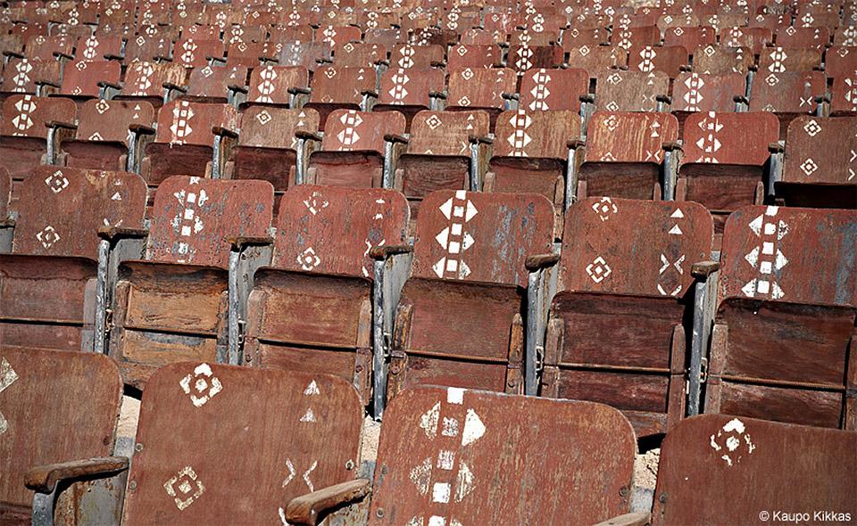 Abandoned Desert Theater