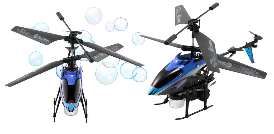 Swann Bubble Bomber R/C Helicopter