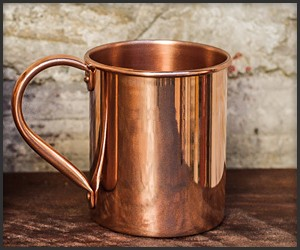 Beam & Anchor Copper Mugs