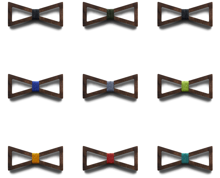BÖ Wooden Bow Ties