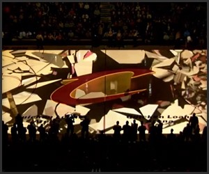 Cleveland Cavs Court Projection