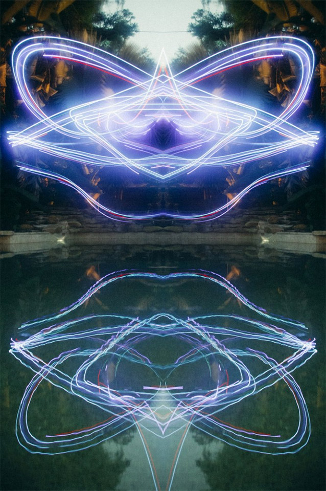 Drone Light Paintings