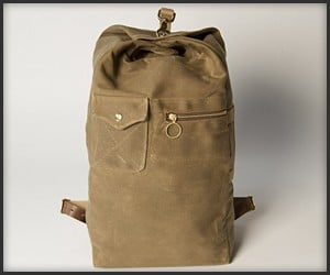 Collected Works Military Duffle