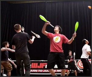 Combat Juggling Is a Thing