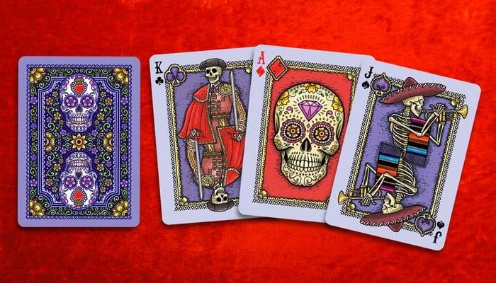 Dia de Los Muertos Playing Cards