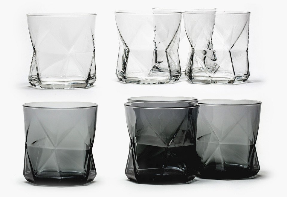Faceted Whiskey Glasses