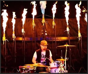 Drumming with FirePixels