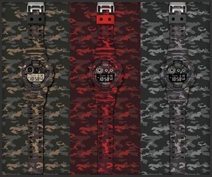 G-Shock 2014 Camo Collection