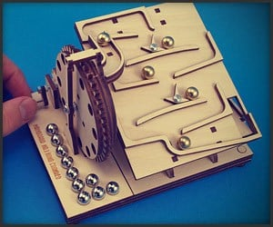 Hand-Cranked Marble Machine