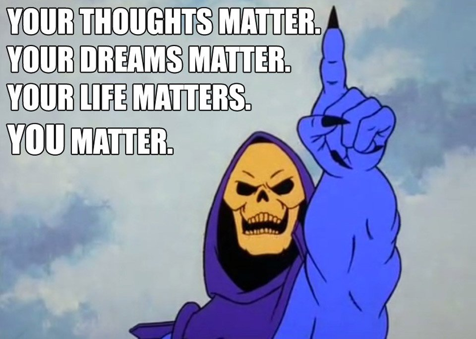 Heal Yourself, Skeletor