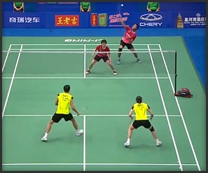 Insane Badminton Rally 2