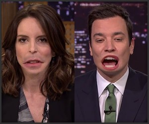 Jimmy and Tina Swap Mouths