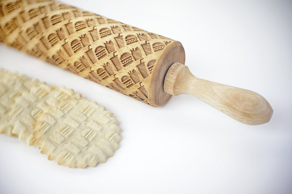 Laser-engraved Rolling Pins