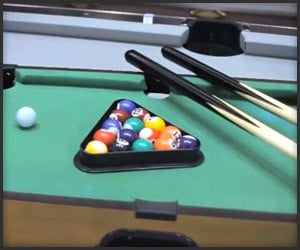 Awesome pool tables on the awesomer - Awesome swimming pool trick shots ...