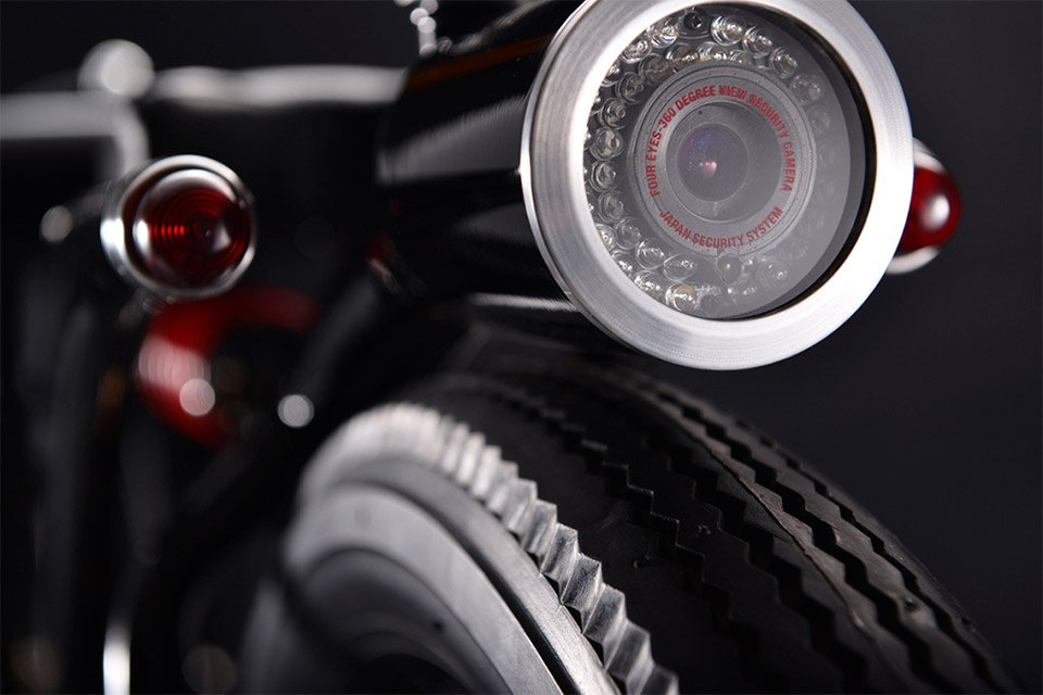 Security Camera Motorcycle