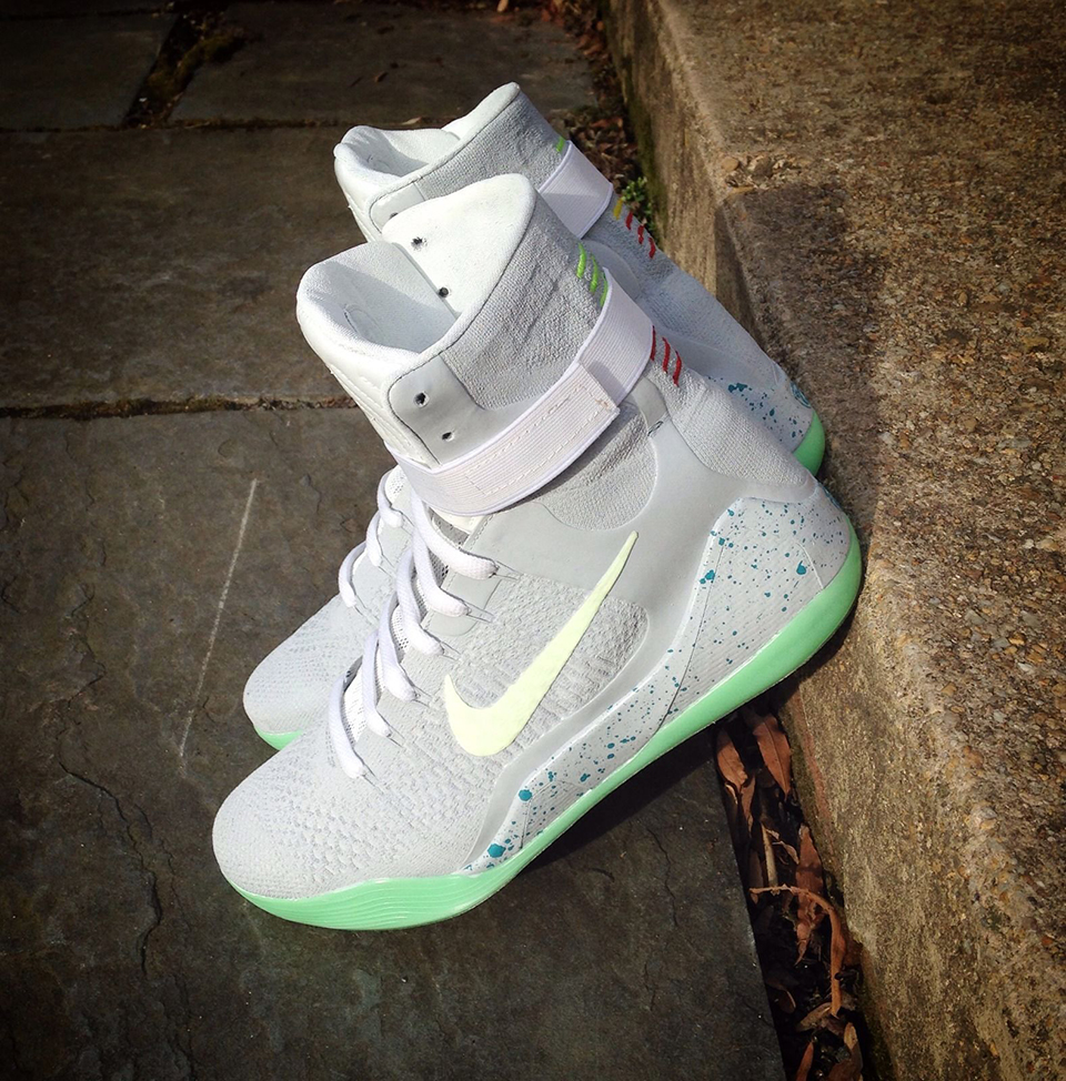Nike Kobe 9 Elite Air Mag Custom ...