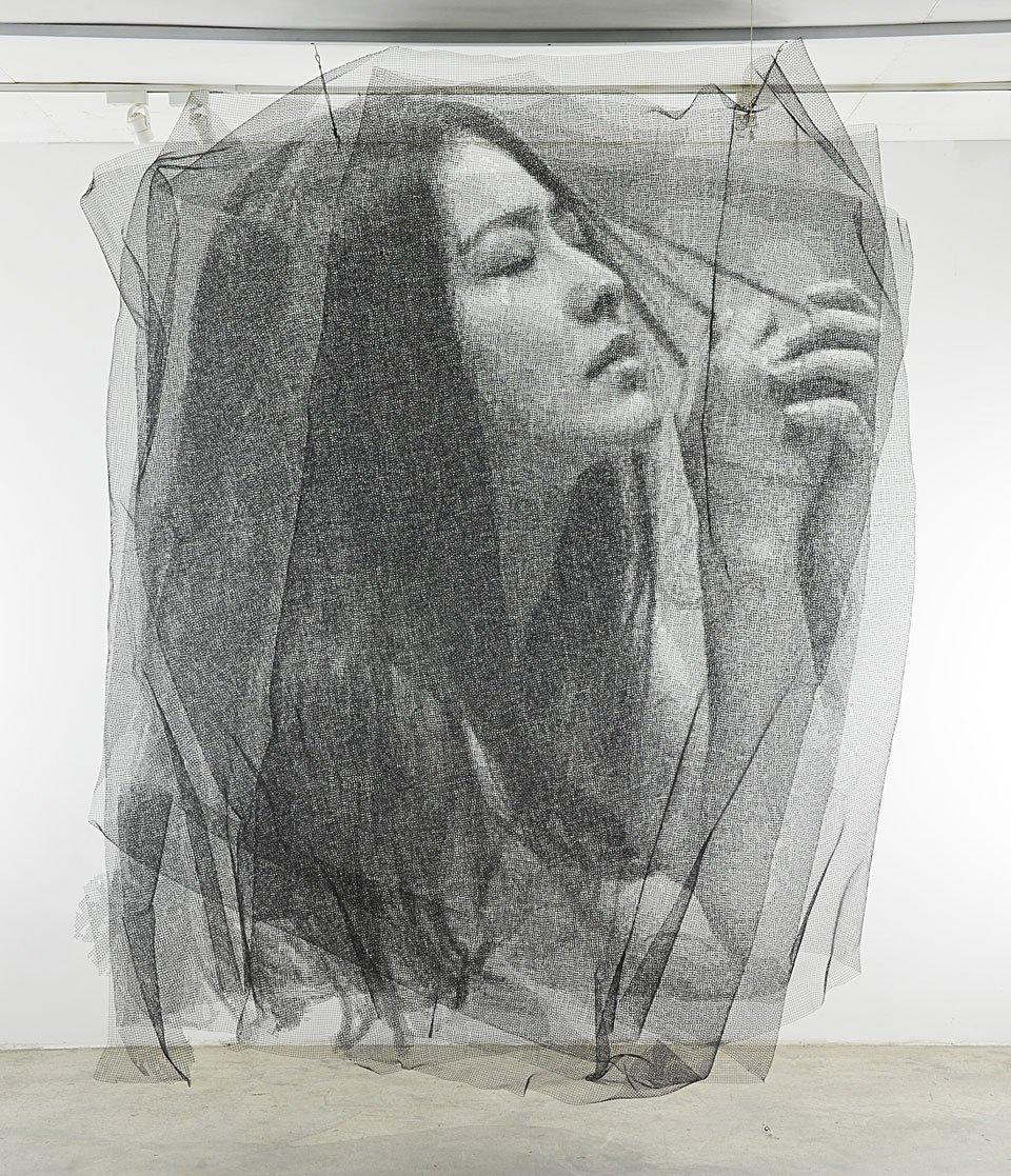 Mesh Wire Portraits 2