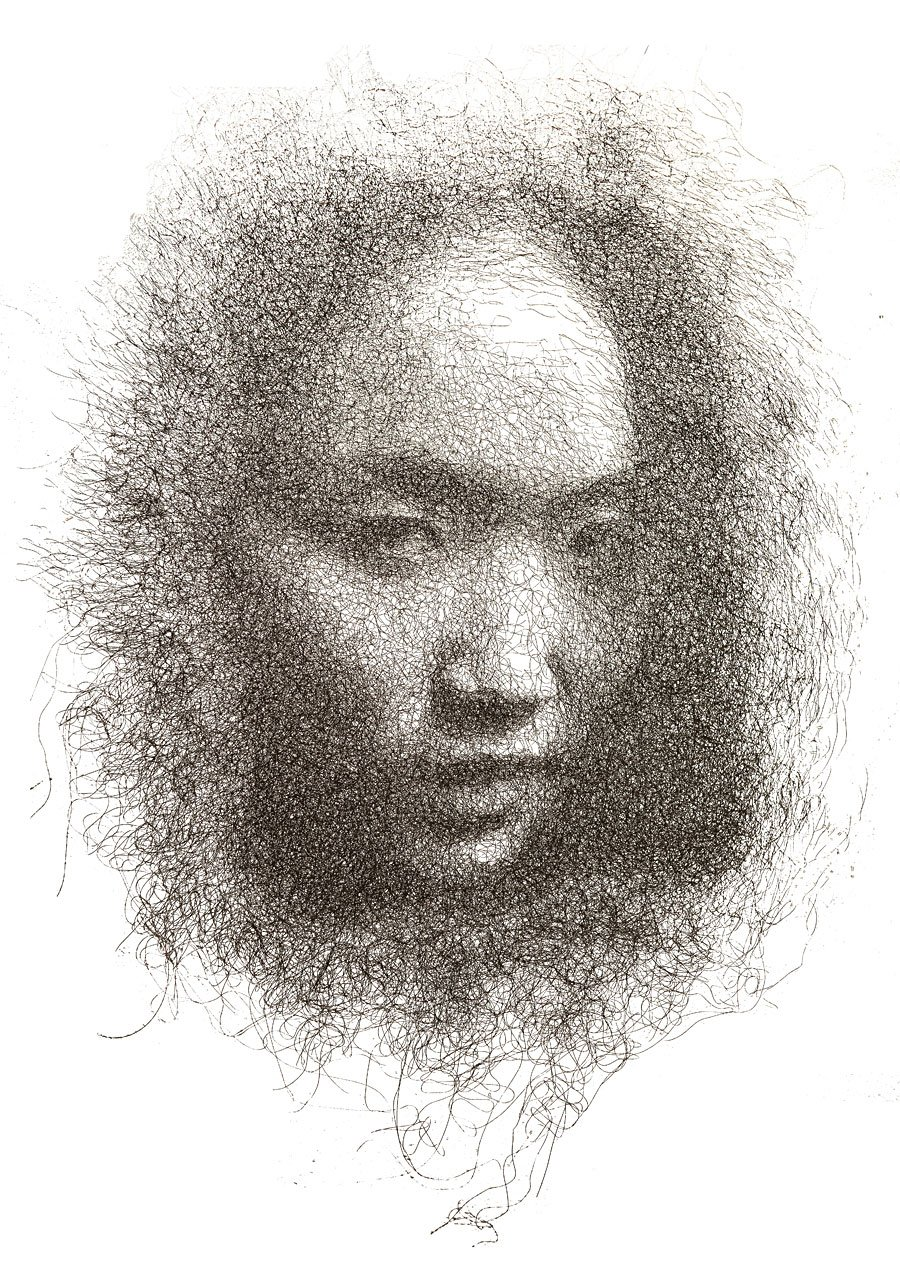 Mesh Wire Portraits 2