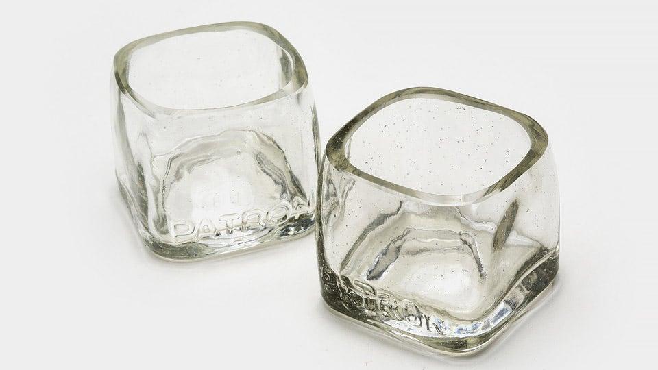 Patrón Shot Glass