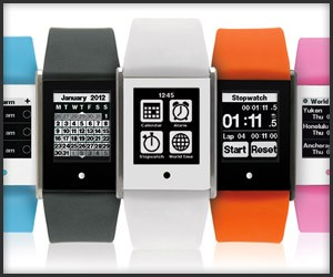 Phosphor Touch Time Watch