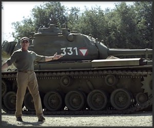 Ride a Tank with Arnold