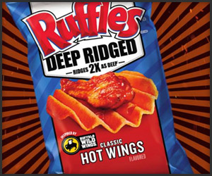 Ruffles Hot Wing Chips