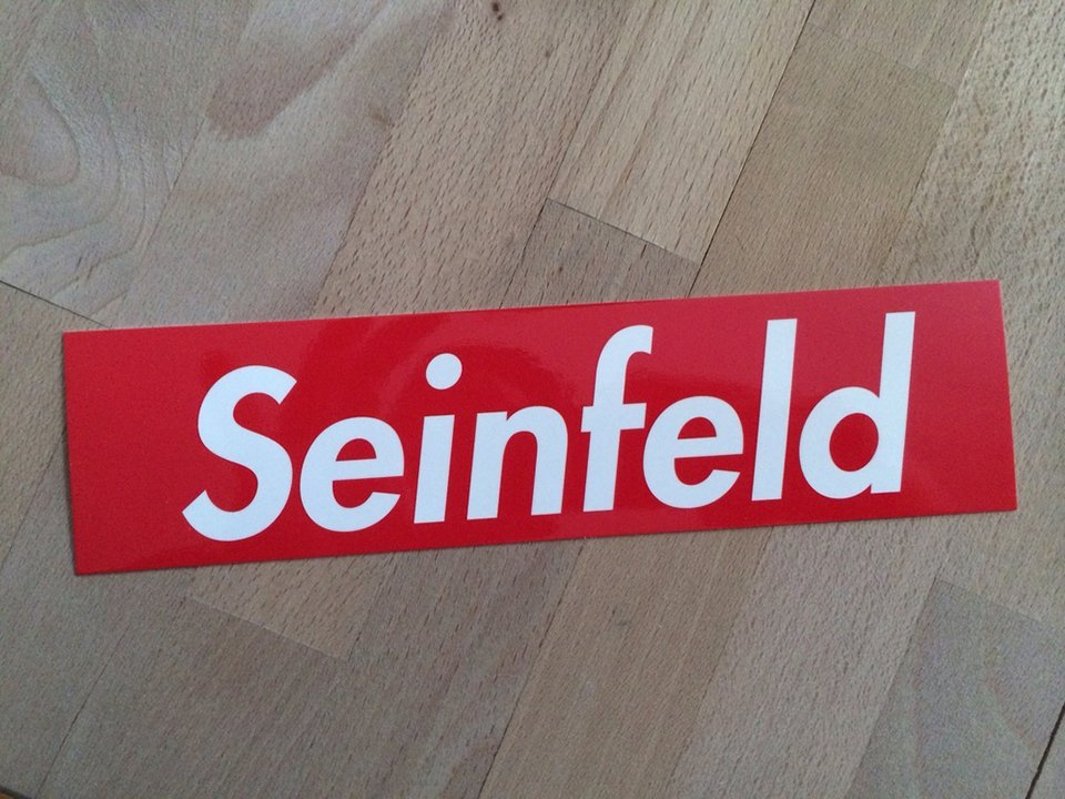 Seinfeld Supreme Sticker