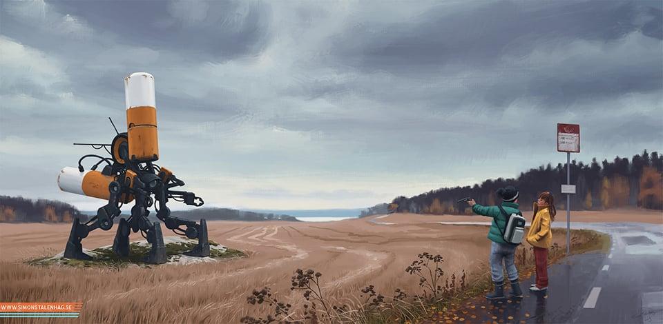 Simon Stålenhag Art