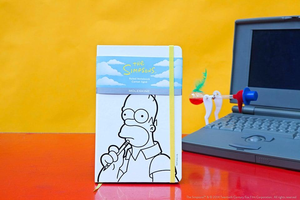 Simpsons x Moleskine Ltd. Edition