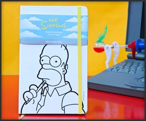 Simpsons x Moleskine Ltd. Edition