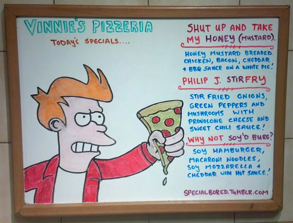 Vinnie's Pizza Specials