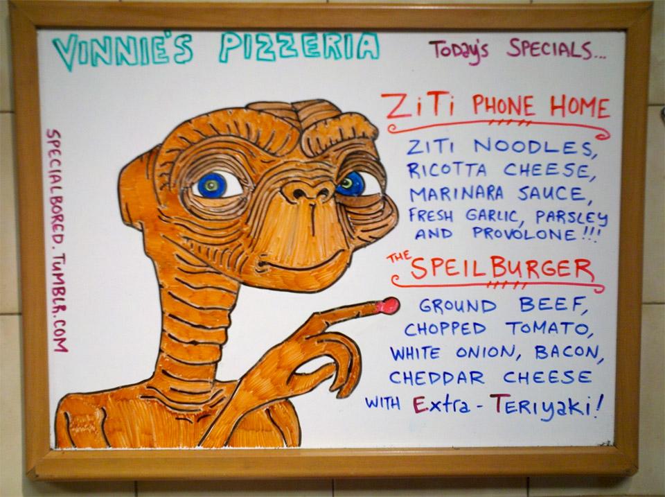 Vinnie's Pizza Specials