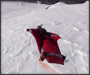 Winter Wingsuit