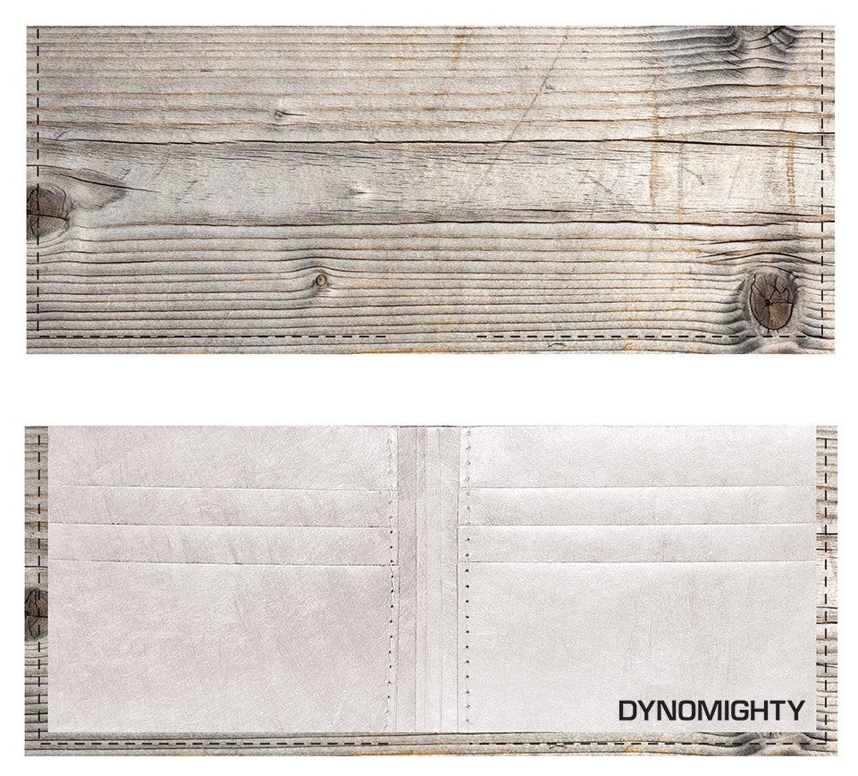 Dynomighty Woodgrain Billfold