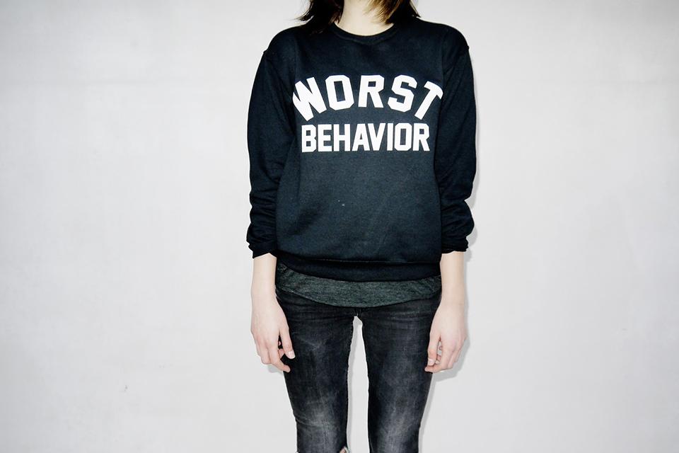 Worst Behavior Sweater