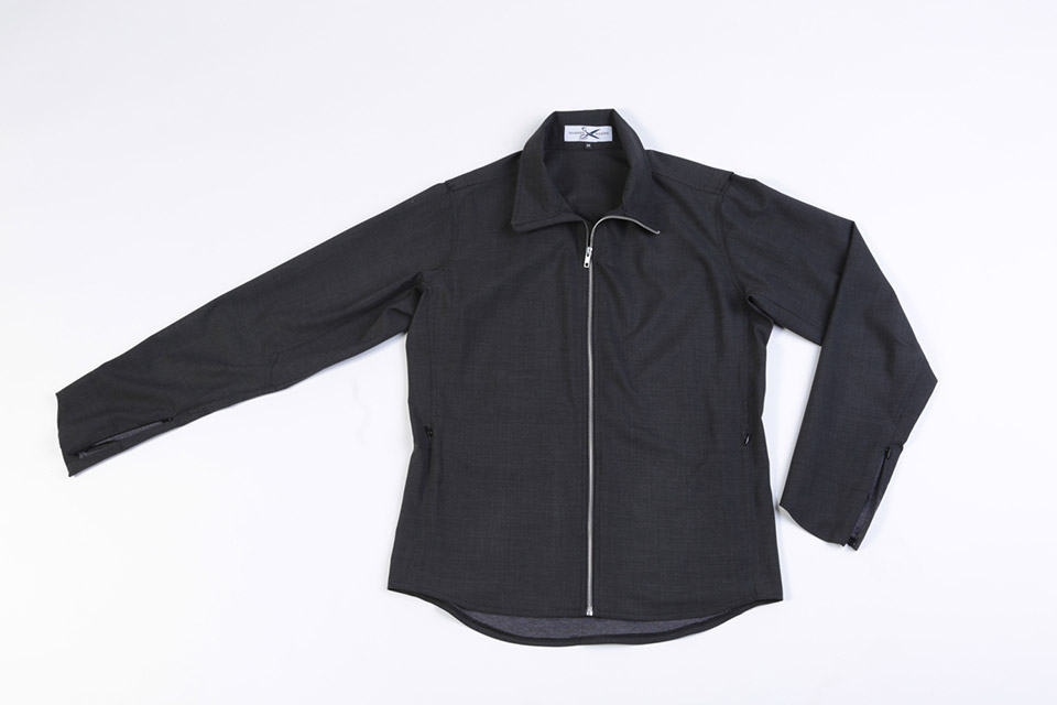 4-Season Fluid Wool Jacket