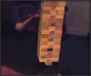Cheating at Jenga