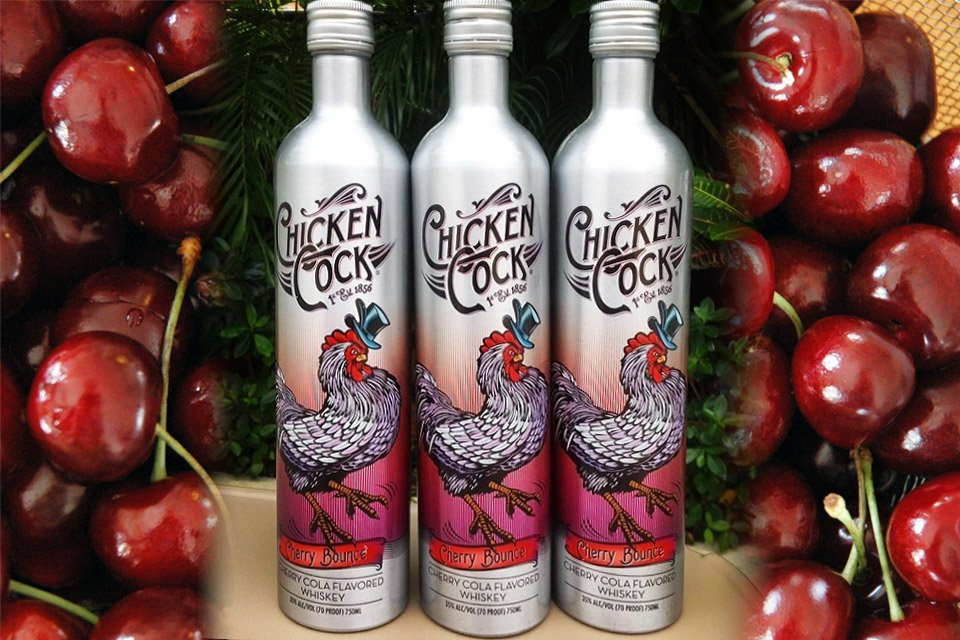 Chicken Cock Cherry Bounce
