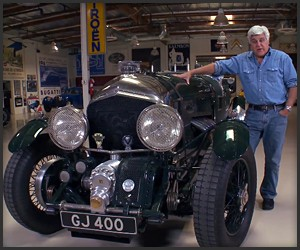 Jay Leno's 27-Liter V12 Bentley