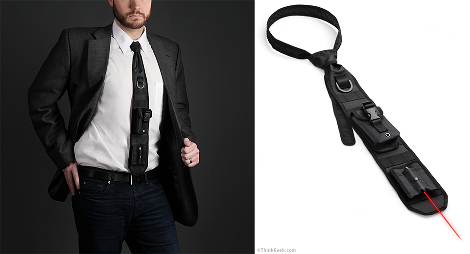 Laser-Guided Tactical Necktie