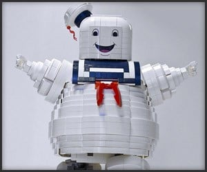 Stay-Puft LEGO Set