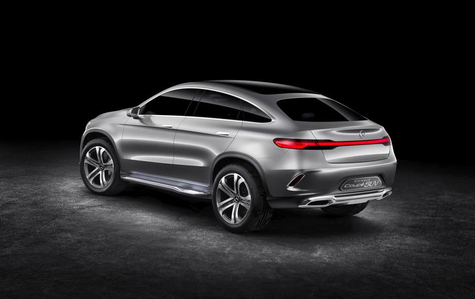 MB Concept Coupé SUV